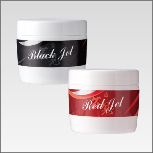 ホットジェル:ブラック/レッド